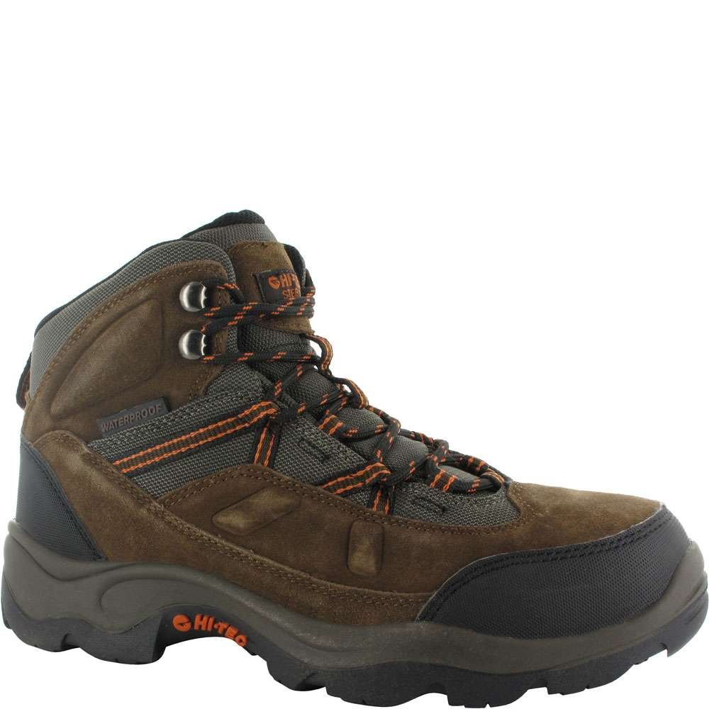 Hi-Tec Men's Bandera Pro Mid ST Work Boot,Chocolate,9.5 M US