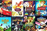 The Best of Disney Collection (8 Pack, 10-Discs): Peter Pan / The Aristocats / Cars / Robin Hood / A Bug's Life / The Adventures of Ichabod and Mr. Toad / Dumbo / The Many Adventures of Winnie the Pooh (Total 10 hrs 19 min)