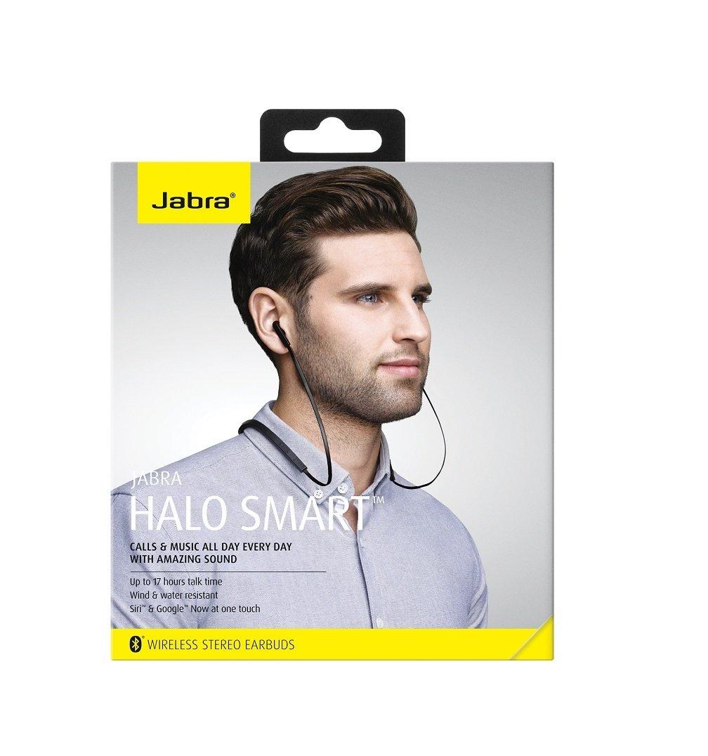 Jabra 100 98300000 02 Halo Smart Wireless Bluetooth Headset Black Fusion Cell Phones Accessories