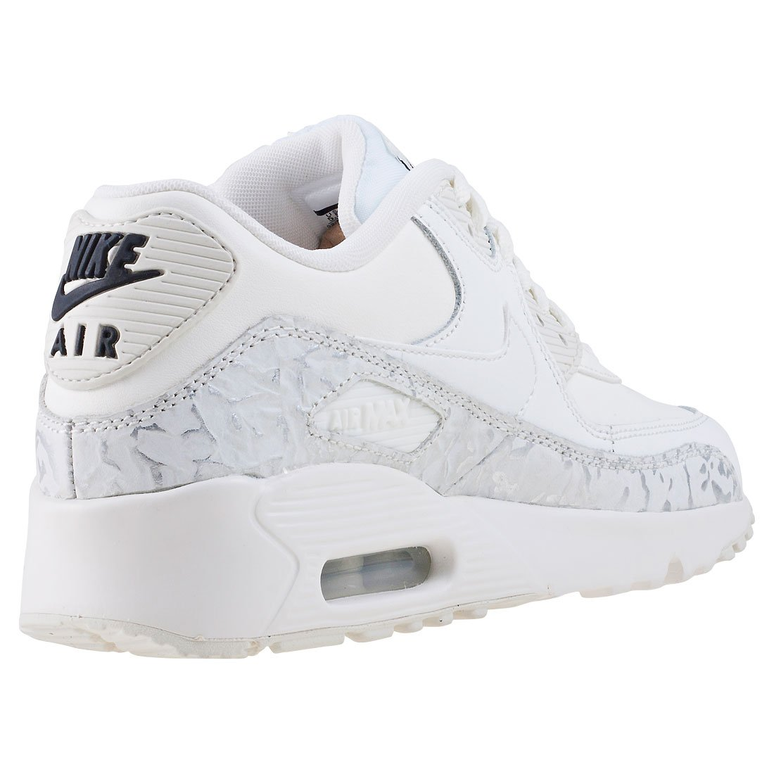 separation shoes 15118 a48bf Nike Air Max 90 LTR SE G - 897987100 - Color Grey-White - Size  4.5   Amazon.ca  Shoes   Handbags