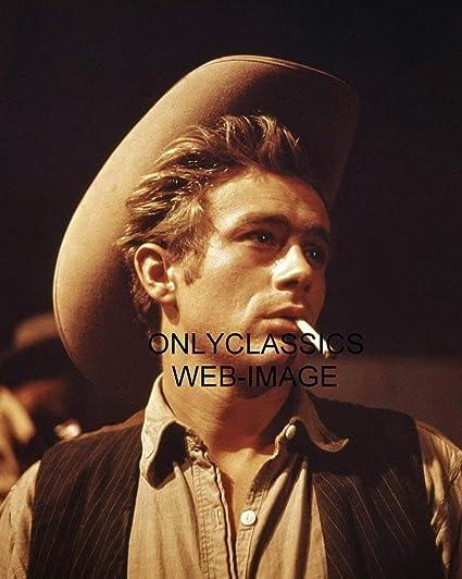 Image Unavailable. Image not available for. Color  OnlyClassics 1956 Cowboy  HAT Wearing James Dean Smoking Cigarette Portrait Giant ... ce1f27d57b3