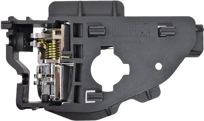 2014-2019 Nissan Rogue Rear Passenger Side Outer Bumper Cover Bracket; Made Of Pom Plastic Partslink NI1143107