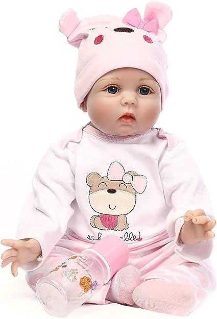 22/'/' Lifelike Reborn Baby Doll Toddler Girl Handmade Birth Gifts