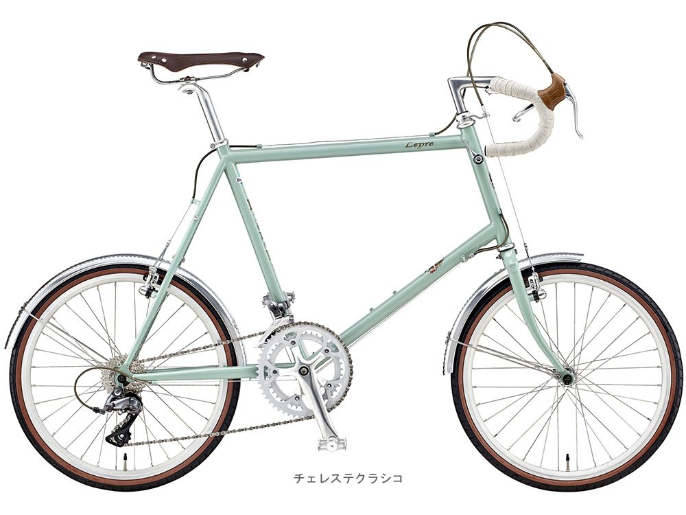 BIANCHI(ビアンキ) 2018 MINIVELO-8 DROP CLARIS(2x8段)ミニベロバイク <チェレステクラシコ> B077Z5XTGS 48