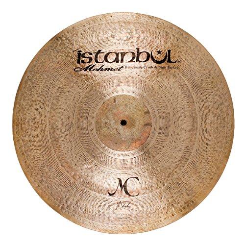 (Istanbul Mehmet Cymbals Jazz Series CJ-R22MC Jazz Ride 22-Inch Cymbal)