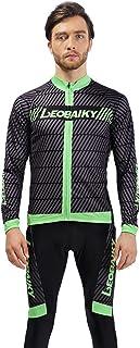 Epinki Costume Homme Printemps Automne Cyclisme Jersey pour Extérieur et Multi Sports Cyclisme Vêtements