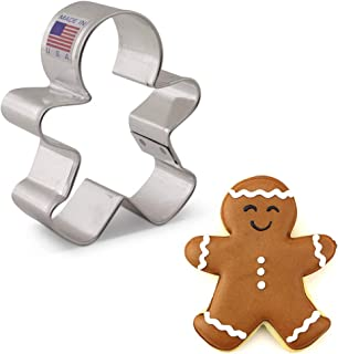 """product image for Ann Clark Cookie Cutters Happy Gingerbread Man Cookie Cutter, 3"""""""