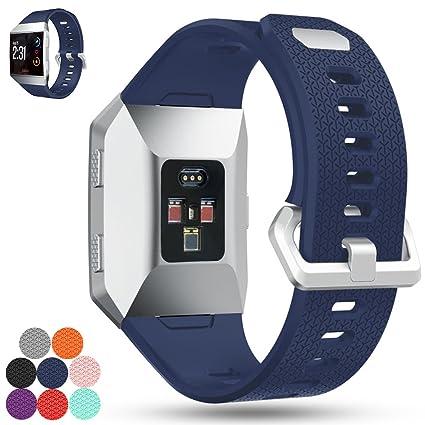 Amazon.com : Feskio Fitbit Ionic Smartwatch Replacement Band ...