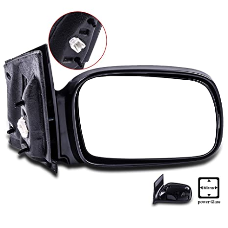 SCITOO Passenger Right Door Mirror Fit 2006 2011 Honda Civic Coupe Power Side  Mirror Adjusted