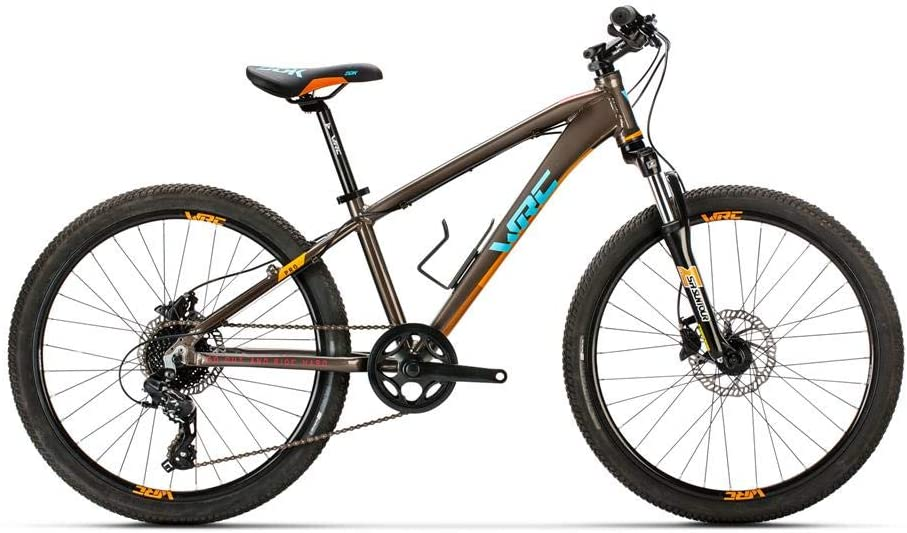 Bicicleta Conor WRC Pro Discs. Bicicleta Junior para Ocio Dos Ruedas. Bici para niños de 7 a 12 años Gama Alta. Bike para niñas. Ruedas 24 Pulgadas. Cambio de 8 velocidades.