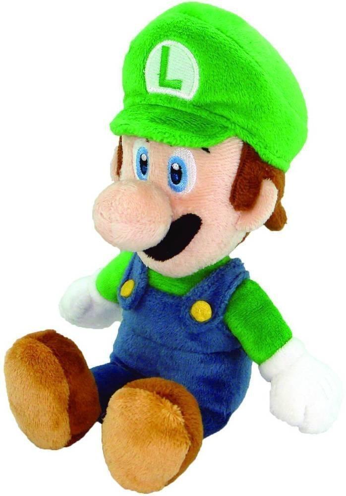 Official Super Mario Luigi Plush, 8'' (Limited edition)