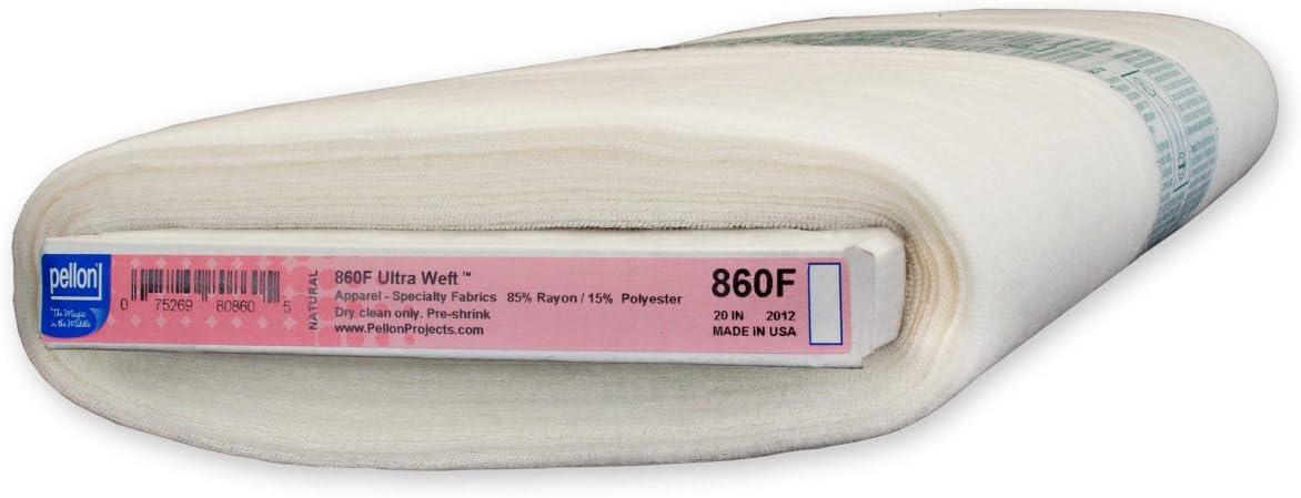 Pellon Natural 860F Ultra Weft Fusible Interfacing
