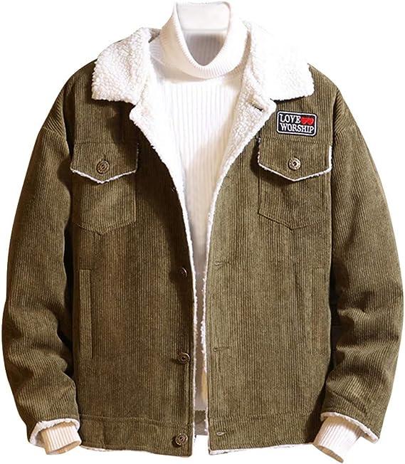Abetteric Mens Velvet Zip Casual Knit Open-Front Hooded Sweater Outwear