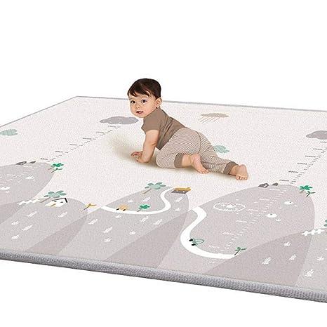 Happyshop18 Alfombrilla de Juegos para Cuidado del bebé, Alfombrilla de Gateo para niños de Espuma