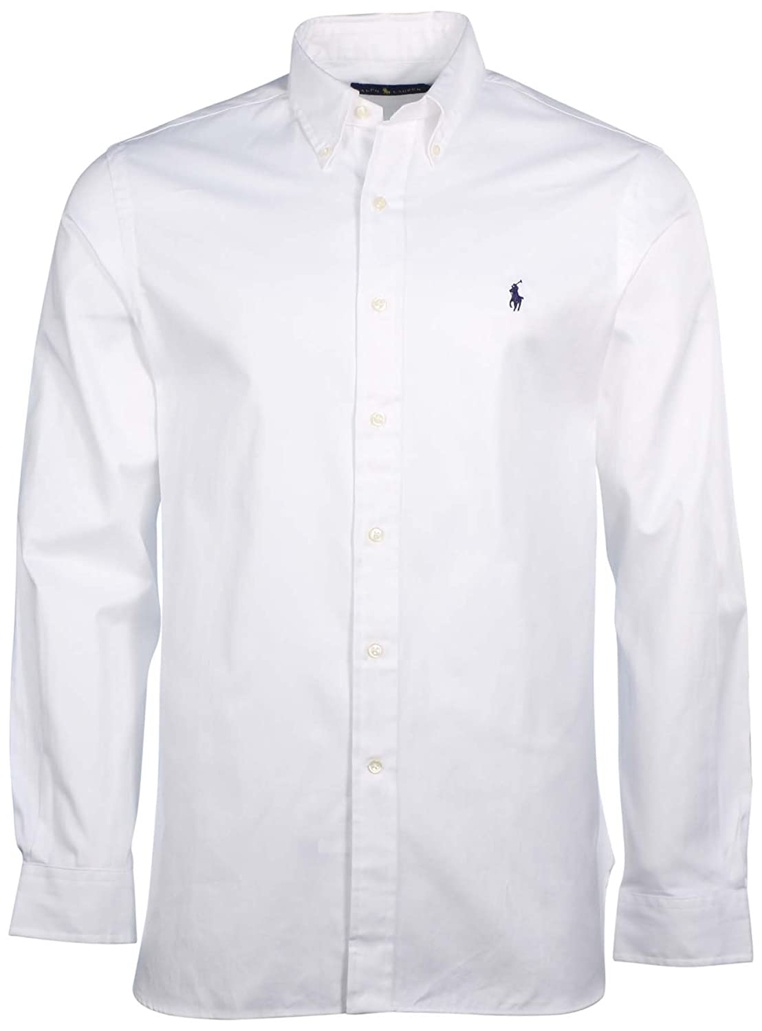 all white polo ralph lauren shirt