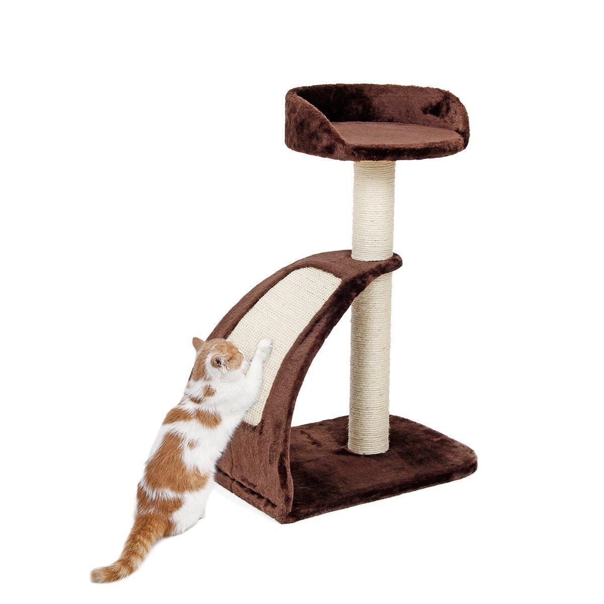 JILAN HOME- Pawz Straße Katze Baum Haustier Kratzer Kätzchen Kratzer Post Natürliche Sisal Katze Spielzeug Funny Activity Center