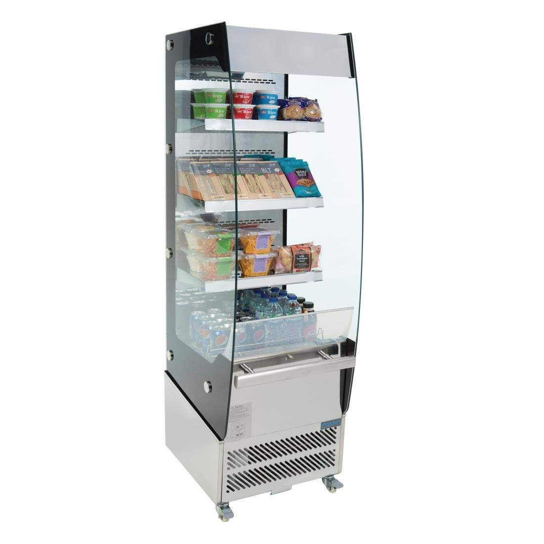 Polar Multideck pantalla frigorífico 220 L 1740 x 494 x 600 mm ...