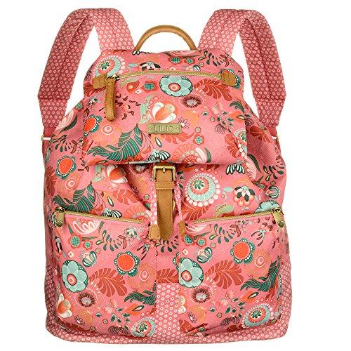 LiLiÓ City Backpack LIL7523-333-Coral Rose Damen Rucksack Schultertasche (33x15x40 cm)
