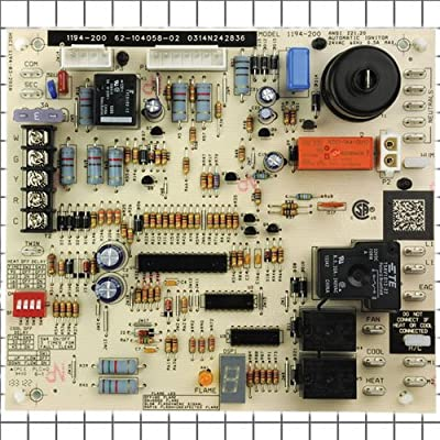 62-104058-02 - OEM Upgraded Replacement for Rheem Furnace Control Board