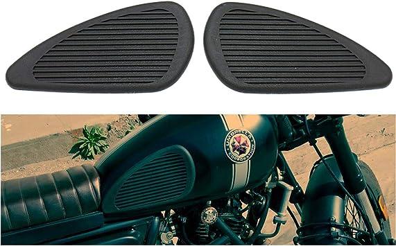 Motorrad Tankaufkleber Pad Retro Universal Motorräder Tank Gummi Schutz Aufkleber Auto