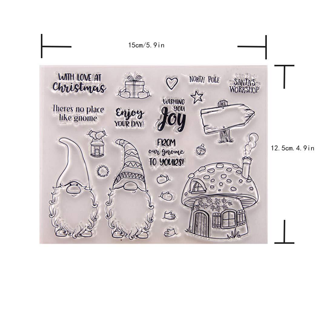 taglio Dies timbri trasparenti per scrapbooking fai da te goffratura modello artigianato carta album regalo creativo Bingmax timbri trasparenti per creare biglietti