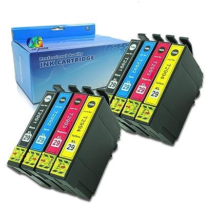 Ouguan - Pack de 8 impresoras Epson 29XL 29 para Epson ...