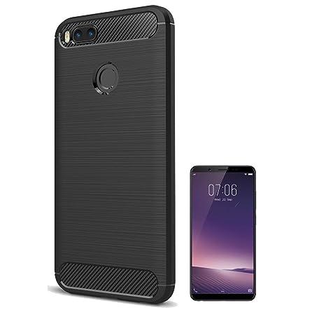 buy popular 952ff 71d2f Clorox Silicon Soft Rubber Zebra Back Cover for Vivo V7: Amazon.in ...