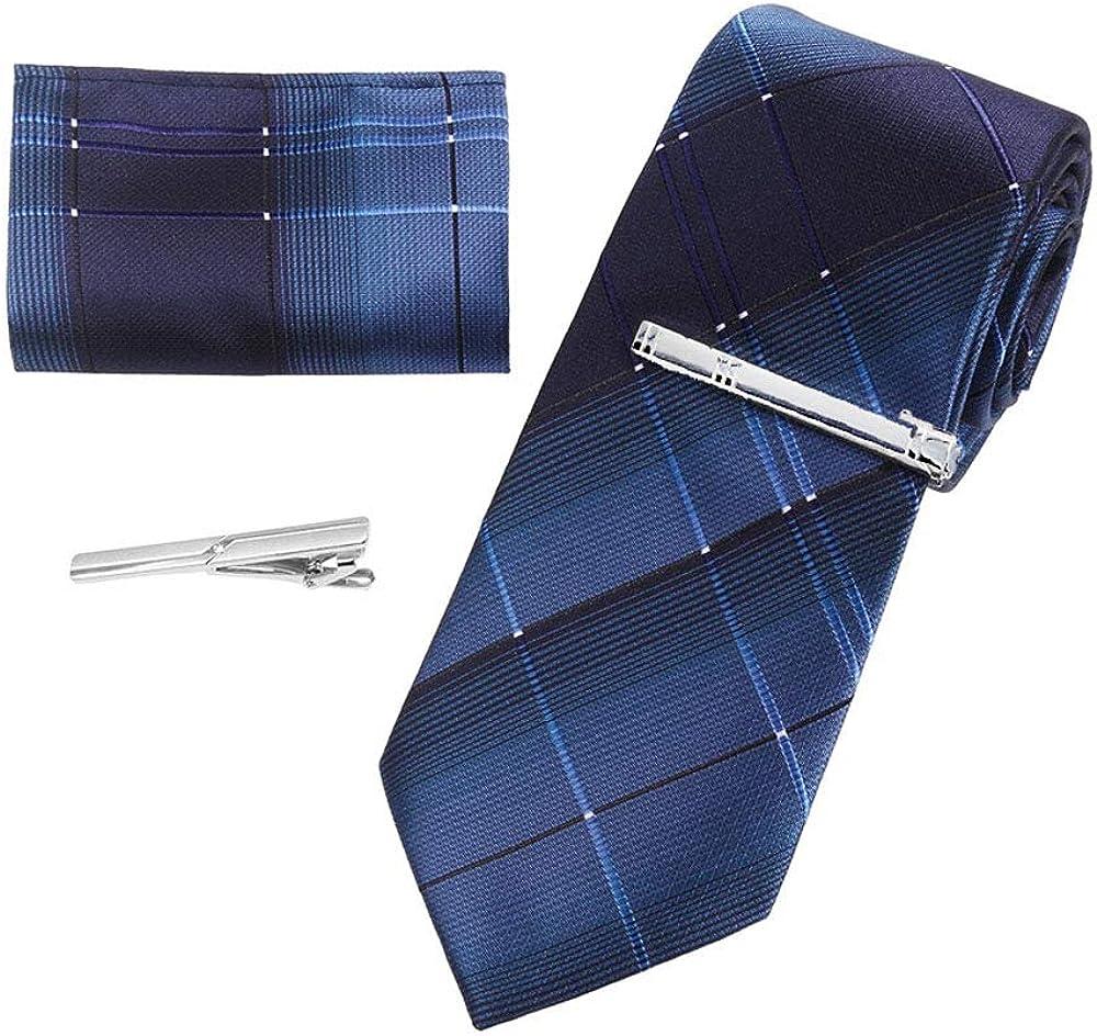HEEFEN 6 Piezas Tie Clip para Hombre Tie Clip 6 cm Tie Clips Ties ...