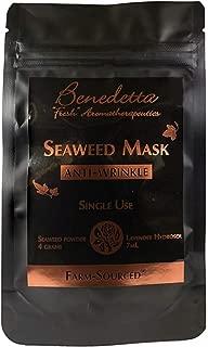product image for Benedetta Seaweed Mask – Anti-Wrinkle Single Use Mask - Non-Clay, Anti-wrinkle, Anti-aging, Moisturizing, Exfoliating