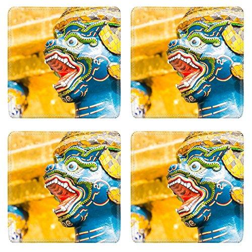 msd-natural-rubber-square-coasters-image-id-36703788-statue-in-wat-phra-kaew-at-bangkok-thailand