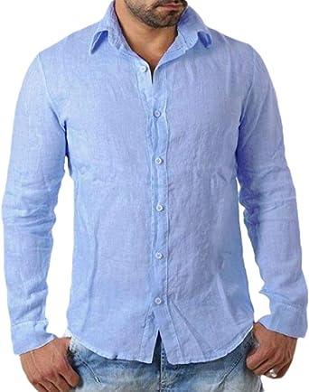 Desconocido Camisas de Playa para Hombre, Estilo Cubano: Amazon.es: Ropa y accesorios