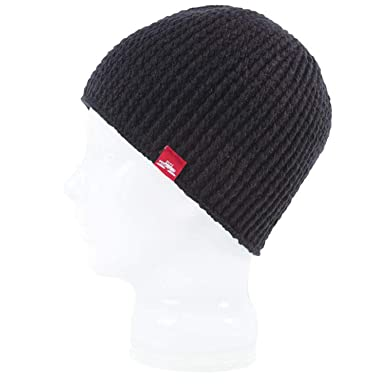 770f28bc32a Spacecraft The Standard Beanie Black at Amazon Men s Clothing store