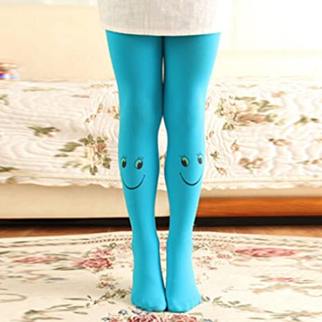 Candy Color Girls Pants Velvet Tights Trousers Pantyhose Children/'s Clothing