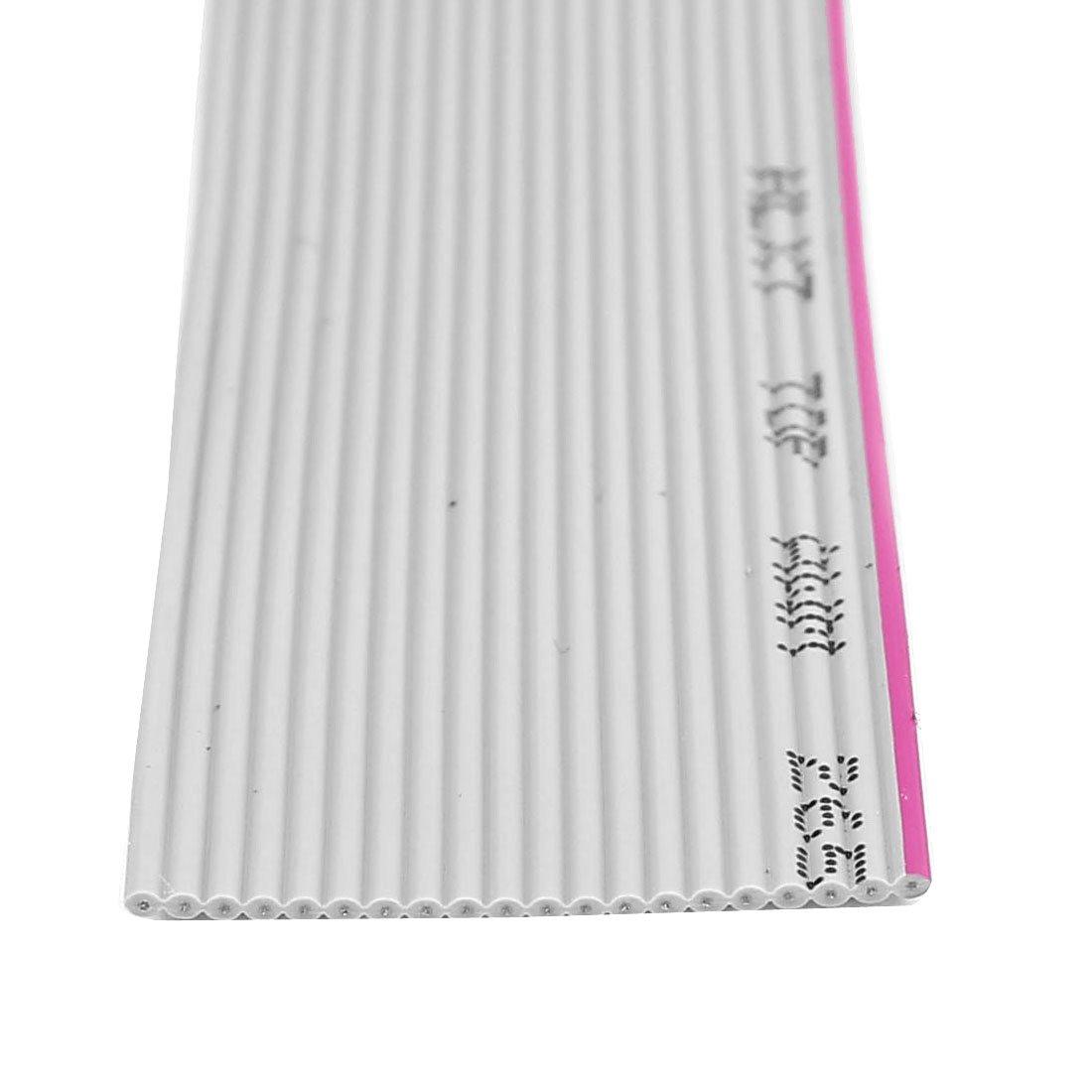 sourcingmap/® 4M 20 broches Extension IDE PATA C/âble plat gris fil