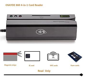 Amazon.com: OSAYDE Nueva NFC USB RFID IC Tarjetas de Crédito ...
