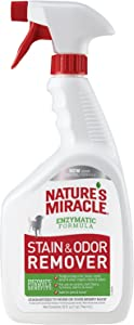Nature's Miracle Stain and Odor Remover for Dogs, Enzymatic Formula Dog Stain & Odor Remover