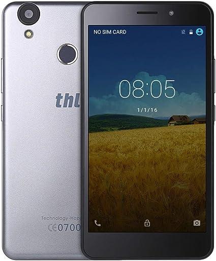 Smartphone, THL T9 Pro 5,5 Pulgadas Smartphone, 4 G Smartphones mtk6737 Android 6.0 Quad Core 2 GB de RAM + 16 GB ROM Lector de Huella Digital teléfono móvil 3000 mAh teléfono portátil: Amazon.es: Electrónica