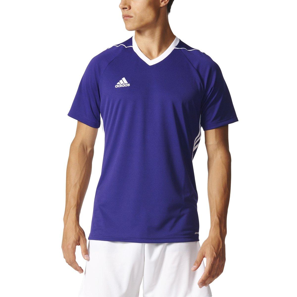 Adidas Tiro 17 Mens Soccer Jersey XS Collegiate Purple/White by adidas