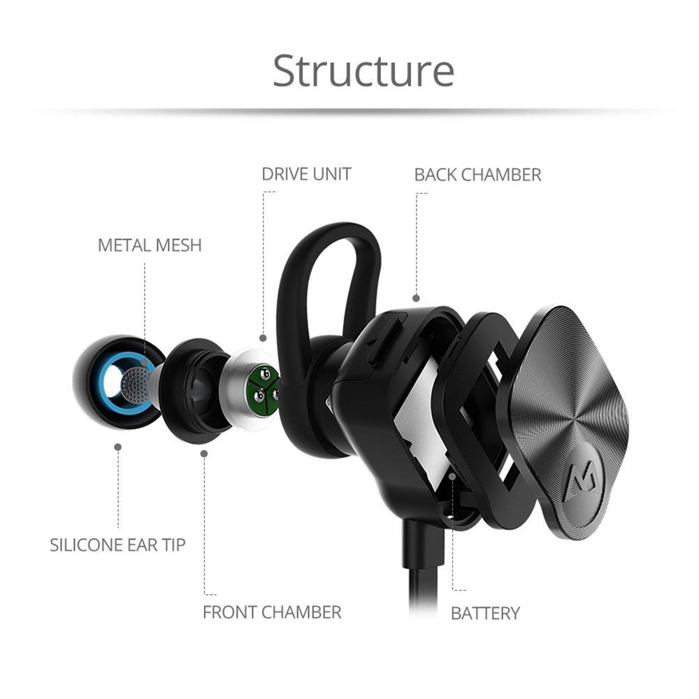 bluetooth headphones mpow wireless running earphones stereo sports headset ebay. Black Bedroom Furniture Sets. Home Design Ideas