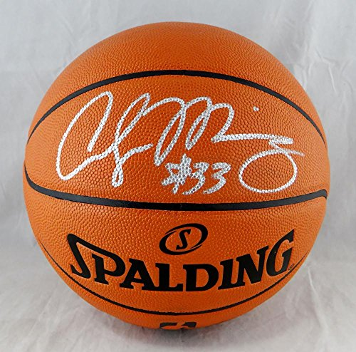 Alonzo Mourning Autographed Official NBA Spalding Basketball - Beckett Auth ()