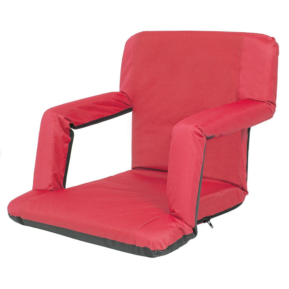 GoTeam Portable Reclining Anywhere Chair - Red