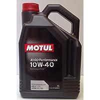 Aceite Motor MOTUL 4100 PERFORMANCE 10W-40, 5 Litros