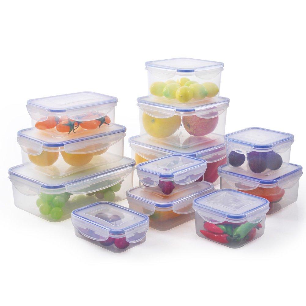 Amazoncom ElaineStore Plastic Airtight Food Container Set of 12