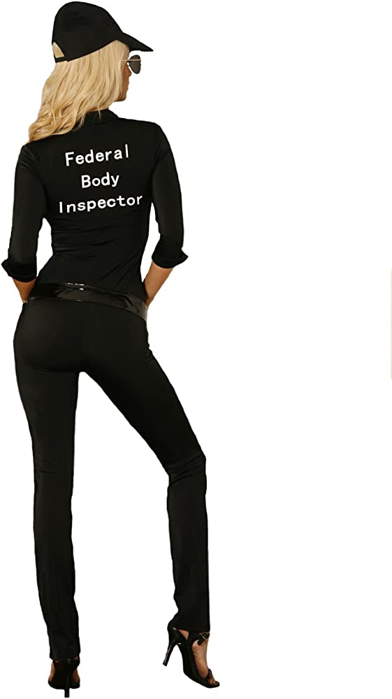 Diseño con forma de corona Moments Fbi Agent para hombre disfraz ...