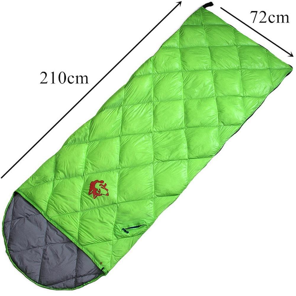 LZH Rechteckig Ultra-leicht Umschlag Schlafsack mit Kompressionsbeutel Camping, 210 x 72 cm
