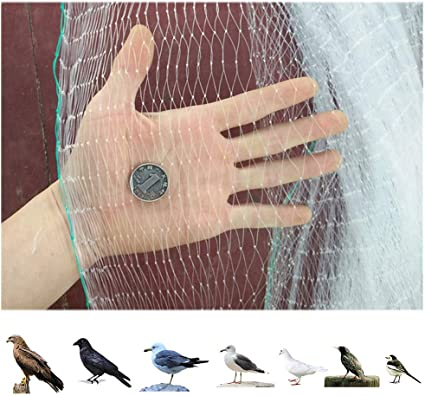 Langyinh Bird Netting For The Garden Anti Pigeon Knotted Mesh Netting Heavy Duty Protection Net For Crop Vegetable Protection Etc 10 X15m Amazon Co Uk Kitchen Home