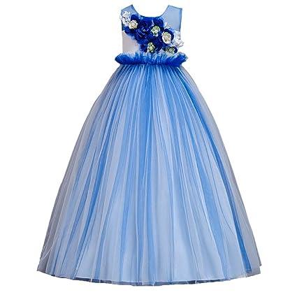 Niñas Vestidos De Noche Chica De Baile De Boda Vestido De Princesa Vestido De Gala De