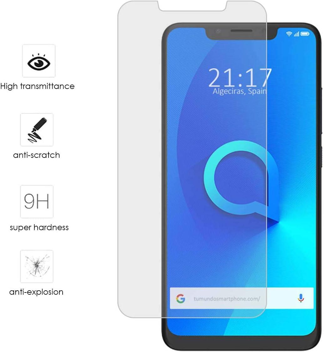 Tumundosmartphone Protector Cristal Templado para ALCATEL 5V ...