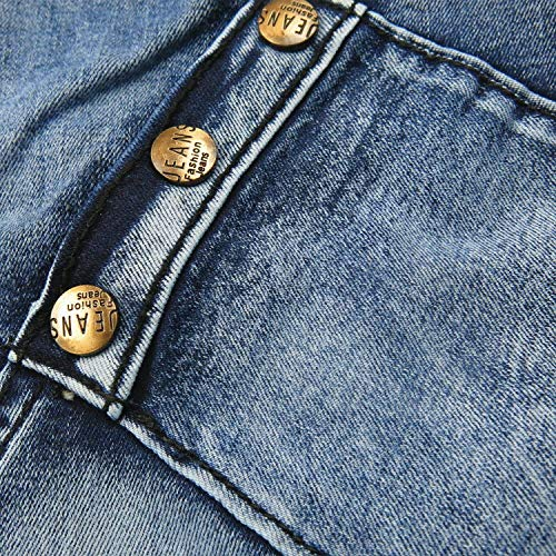 Lavaggio Asimmetrico Vintage T028 Con Slim Stretch Da Inserto A Realizzati Casual Moderna Denim Uomo Jeans Fit Mano PqZwq7a