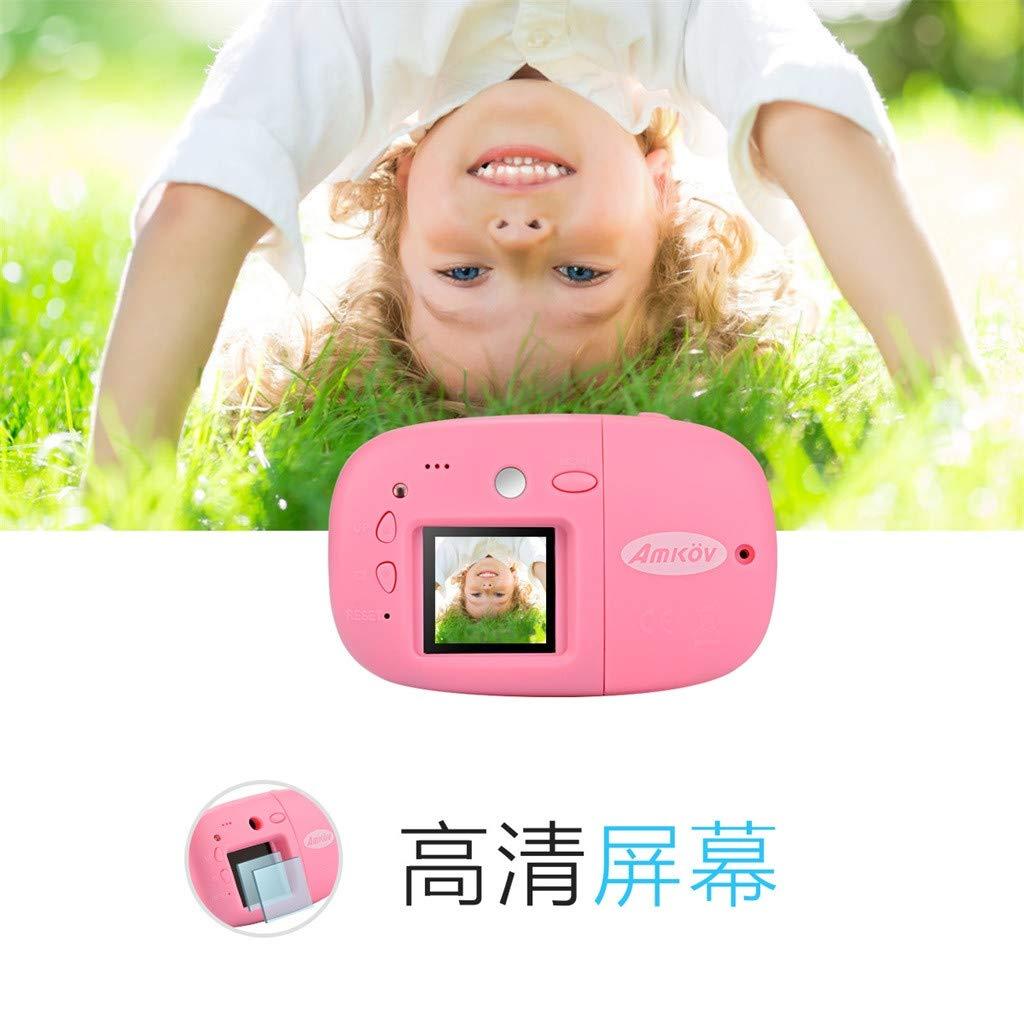 Sdoveb Children Sport Camera 1.7 Inch Portable Kids Camera Video Recorder DV DVR Cam Camcorder Camera (Pink) by Sdoveb (Image #7)